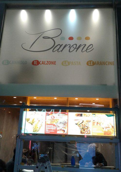 barone gastronomia siciliana san babila milano