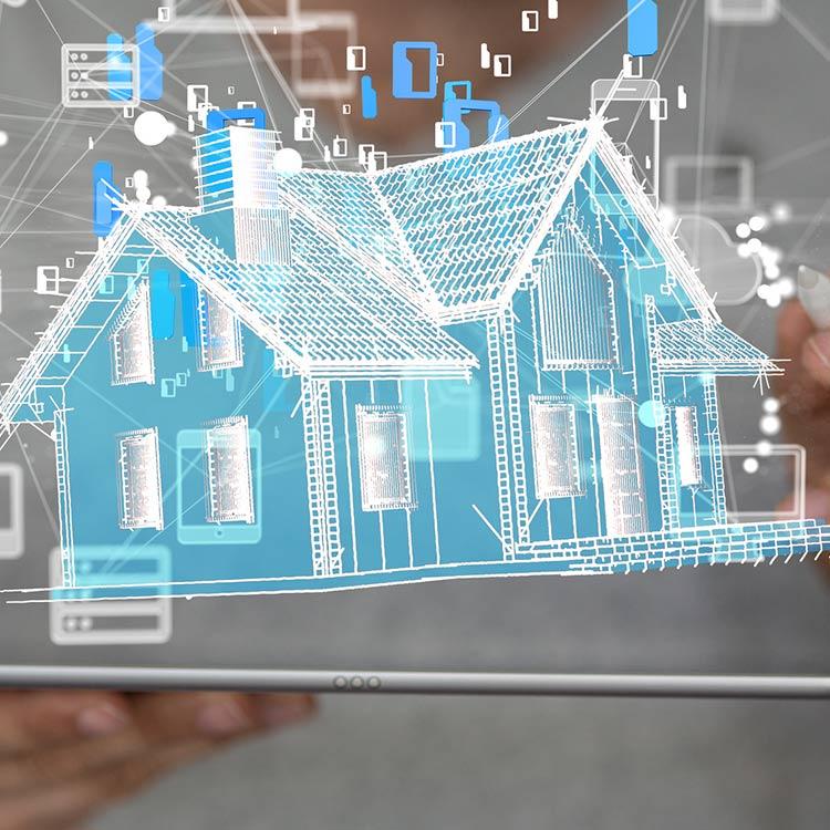 impianto casa domotica intelligente
